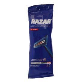 Одноразовые бритвы RAZAR 2 PLUS, 3 шт.