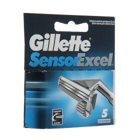 Сменные кассеты для бритья Gillette Sensr Excel, 5 шт