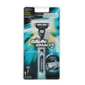 Станок бритвенный Gillette Mach3 черный + 1 картридж