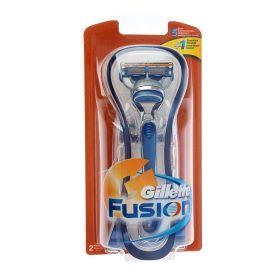 Станок бритвенный Gillette Fusion + 2 картриджа