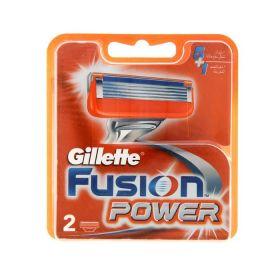 Лезвия Gillette Fusion Power 2 картриджа