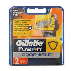Сменные кассеты для бритья Gillette Fusion ProShield, 2 шт