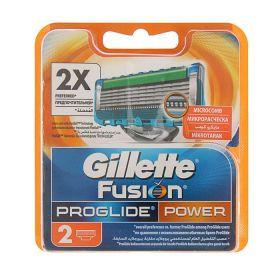 Сменные кассеты Gillette Fusion ProGlide Power, 2 шт