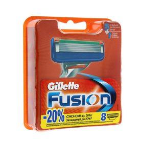 Сменные кассеты для бритья Gillette Fusion, 8 шт