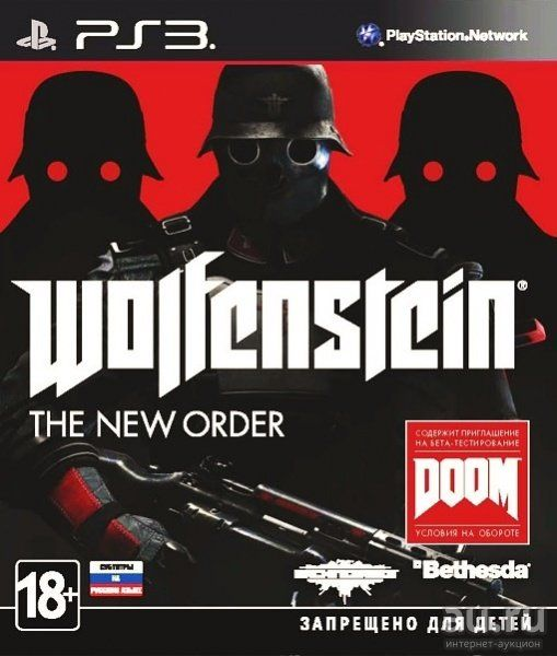 Игра Wolfenstein : The New Order (PS3)