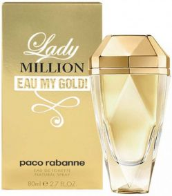 "Тестер Paco Rabanne ""Lady Million"" My Gold 80 мл"