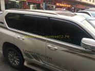 """Рейлинги в стиле """"Lexus"""" для Toyota Land Cruiser Prado 150"""