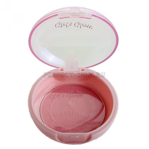 Baviphat 02 Baviphat Innocent Girl's Blusher #2 Rose