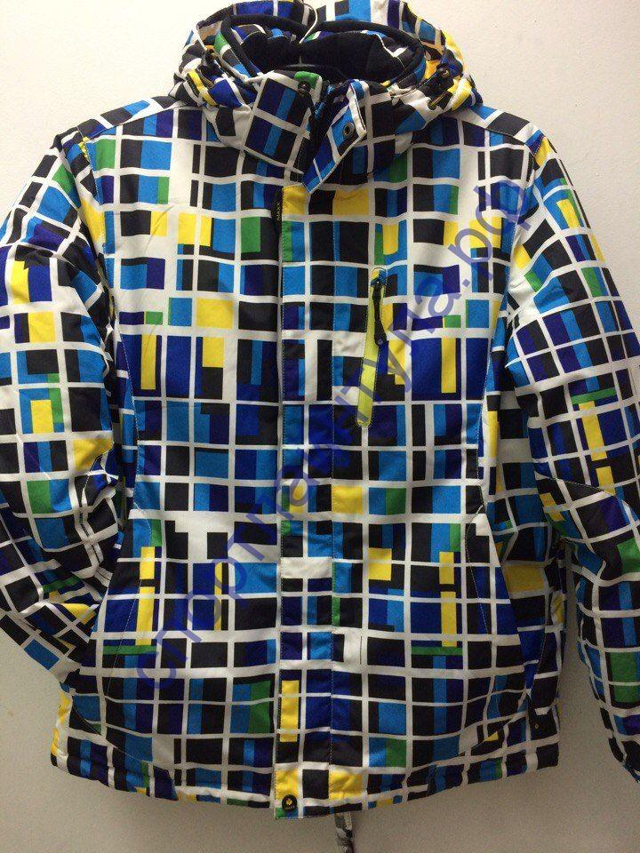 Куртка горнолыжная мужская MAXX 201466 голубая