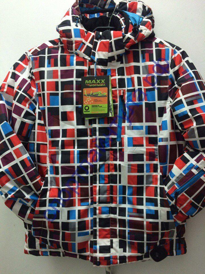 Куртка горнолыжная мужская MAXX 201466 красная
