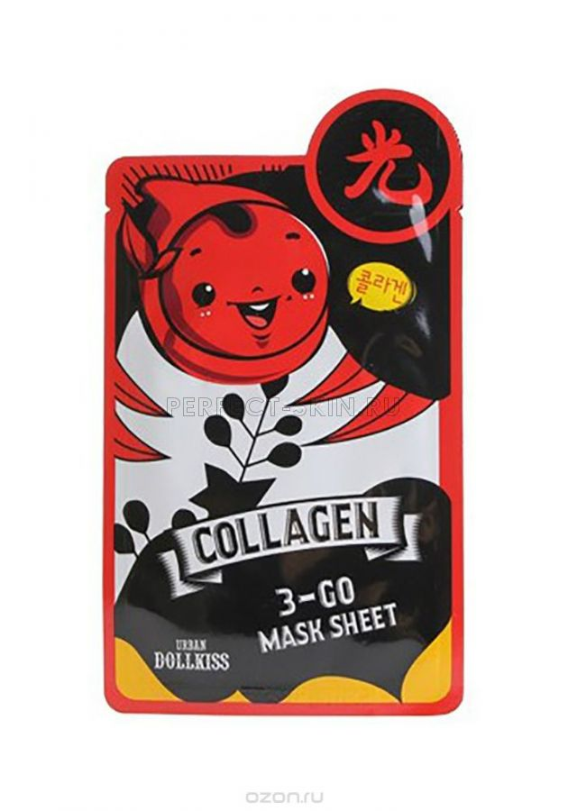 Baviphat Urban Dollkiss 3-GO Mask Sheet_Collagen