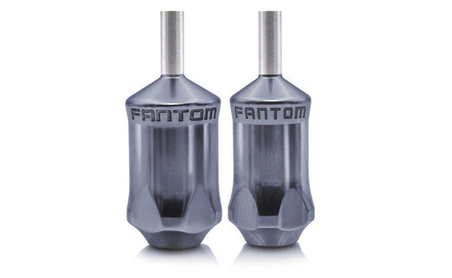 Fantom Aluminum Tube Cartridge Grip - Gun Metal