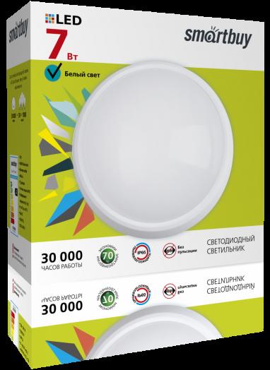 Cветодиодный (LED) светильник HP Smartbuy-7W/4000K/IP65