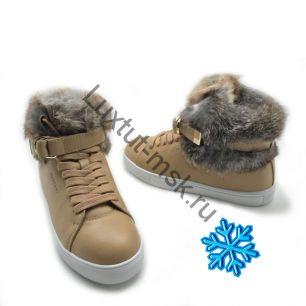 Ботинки Buscemi с мехом