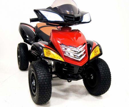 Электроквадроцикл RiverToys E005KX-A (надувные колеса)