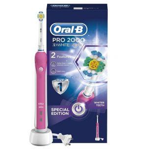 Электрическая зубная щетка Oral-B Professional Care 500 Pink (D16.513.U)