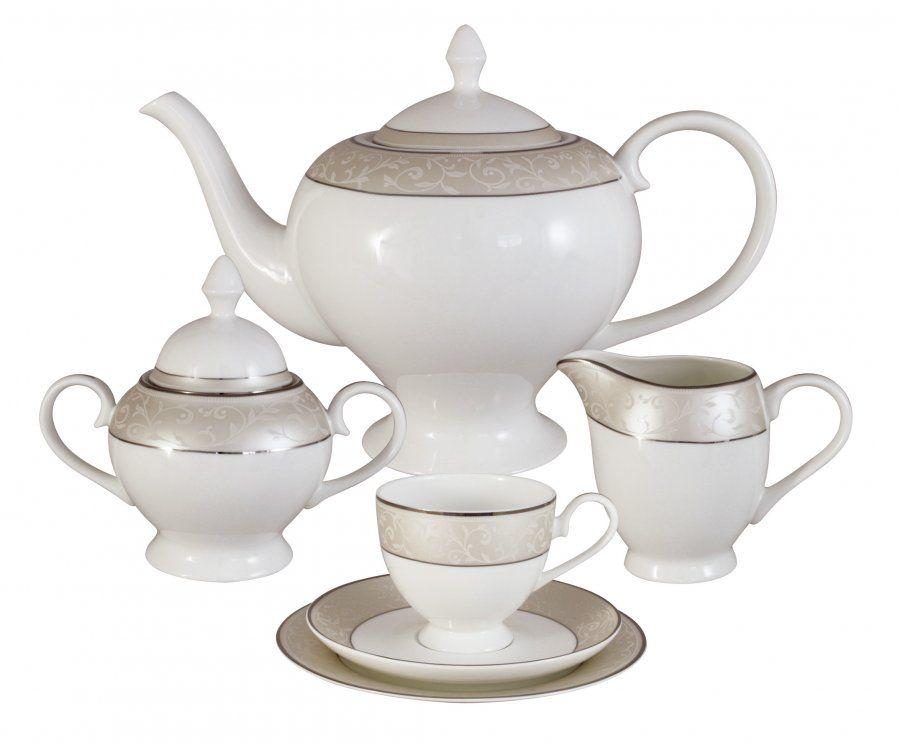 "Чайный сервиз на 6 персон ""Антуанетта"", 21 пр."