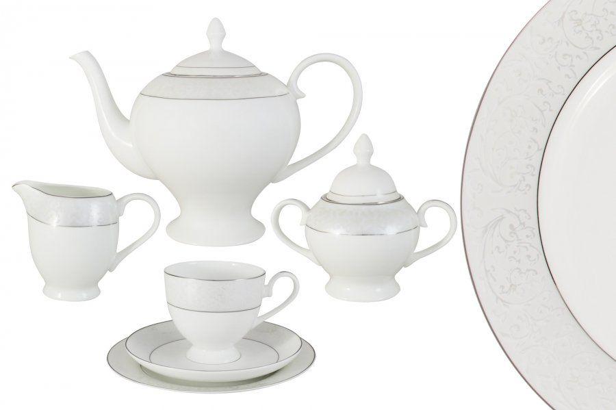 "Чайный сервиз на 6 персон ""Мелисента"", 21 пр."