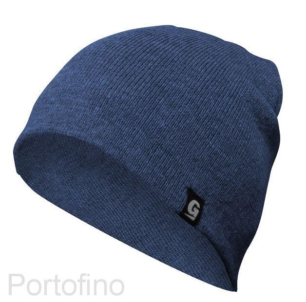 Everyday шапка унисекс, тёмно-синяя