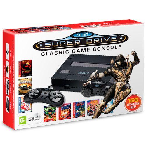 Sega NES (166-in-1) Black (Черный)