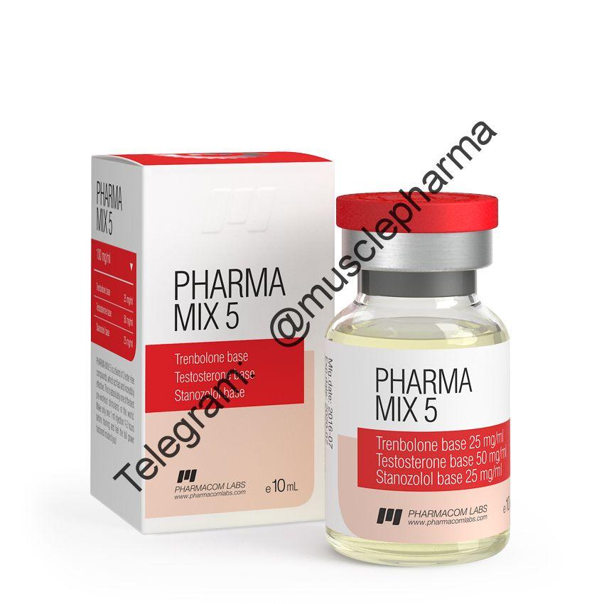 PHARMAMIX 5 (ФАРМАКОМ). 100 mg/ml * 1 флакон (10 мл.)
