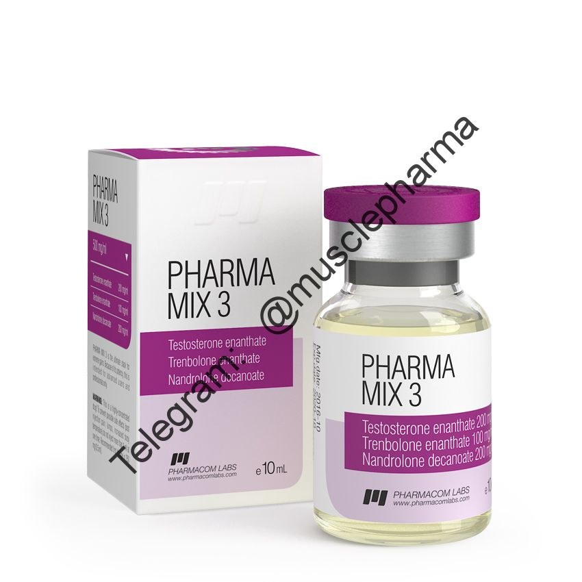 PHARMAMIX 3 (PHARMACOM LABS). 500 mg/ml 10ml * 1 флакон