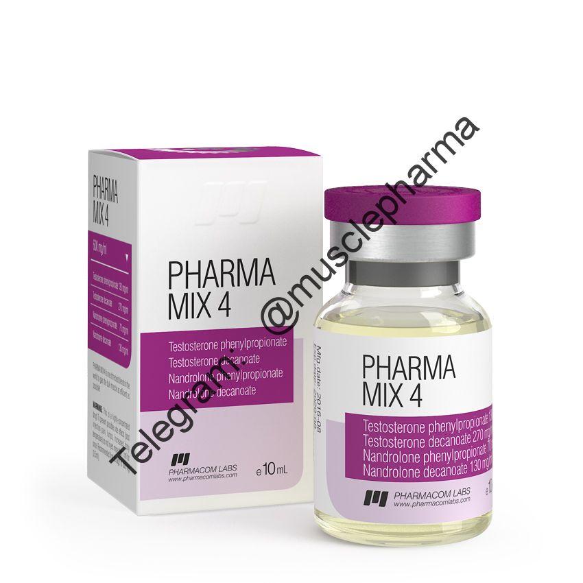 PHARMAMIX 4 (PHARMACOM LABS). 600mg/ml 10ml * 1 флакон