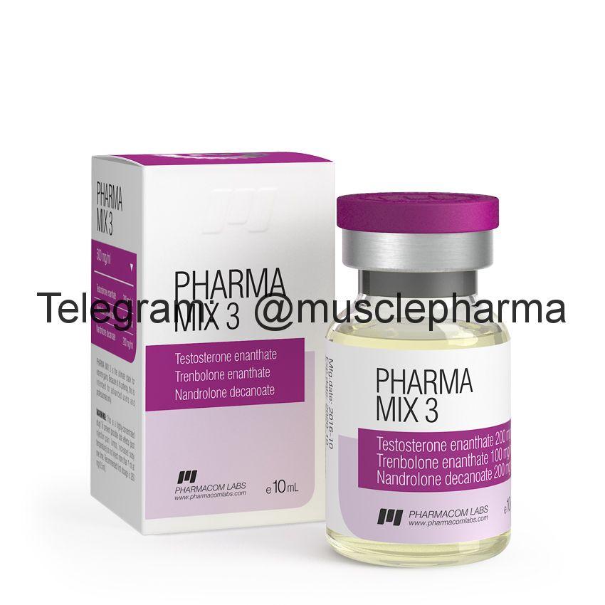 PHARMAMIX 3 (фармамикс 3). 500 mg/ml 10ml * 1 флакон