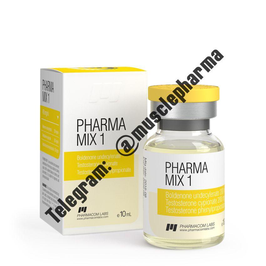 PHARMAMIX 1 (ФАРМАКОМ). 450 mg/ml 10 ml * 1 флакон