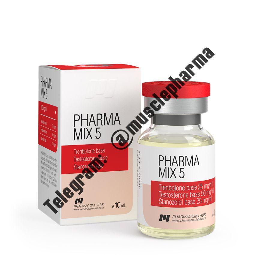 PHARMAMIX 5 (ФАРМАКОМ). 100 mg/ml 10 ml * 1 флакон