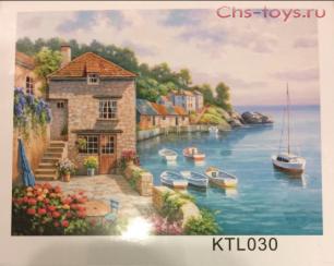Картина по номерам Солнечная бухта KTL030