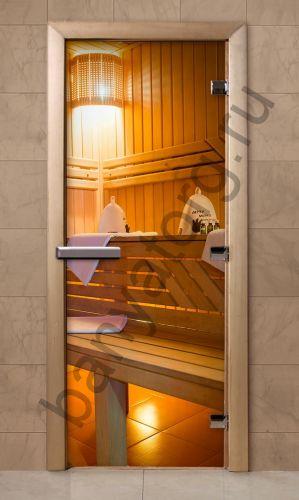 Дверь для бани F207