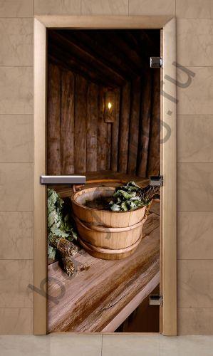 Дверь для бани F208