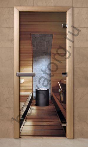 Дверь для бани F209