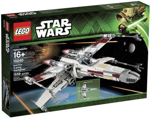 10240 Истребитель X-wing. Конструктор ЛЕГО Звездные войны