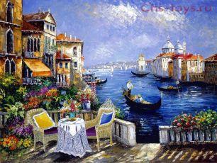 Картина по номерам Венецианское лето KTL012