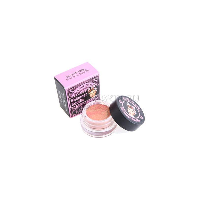 Baviphat Eye Baviphat SUGAR GIRL Shimmer Souffle #1 Peach Souffle