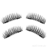 Магнитные накладные ресницы Huga Beauty New 3D Eyelashes