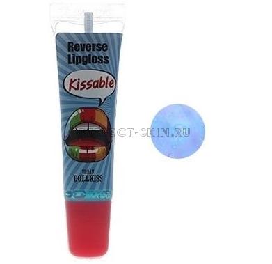 Baviphat Lip Urban Dollkiss Kissable Reverse Lip Gloss #3 Blue
