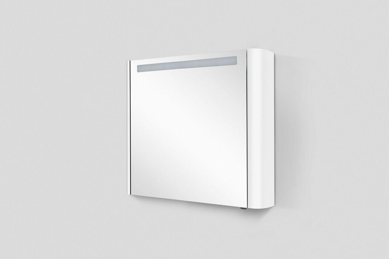 Зеркало-шкаф с подсветкой Am.Pm Sensation 80 (Сенсейшон) 80х70 ФОТО