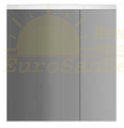 Зеркало-шкаф с подсветкой Am.Pm Spirit V2.0 60 (Спирит V2.0) 61х56 ФОТО