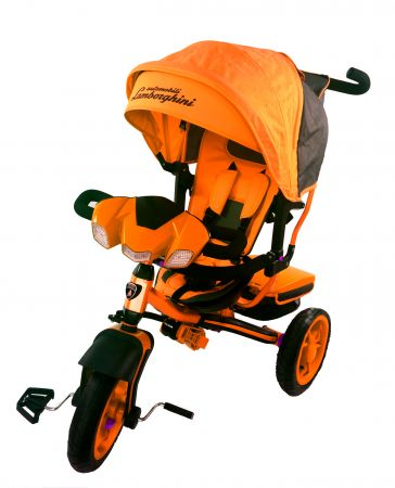 Велосипед Trike Lamborghini L3E оранжевый (2017)