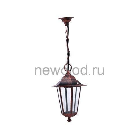 Садово-парковый светильник HL272 60Вт Медь E27 220-240V подвесной