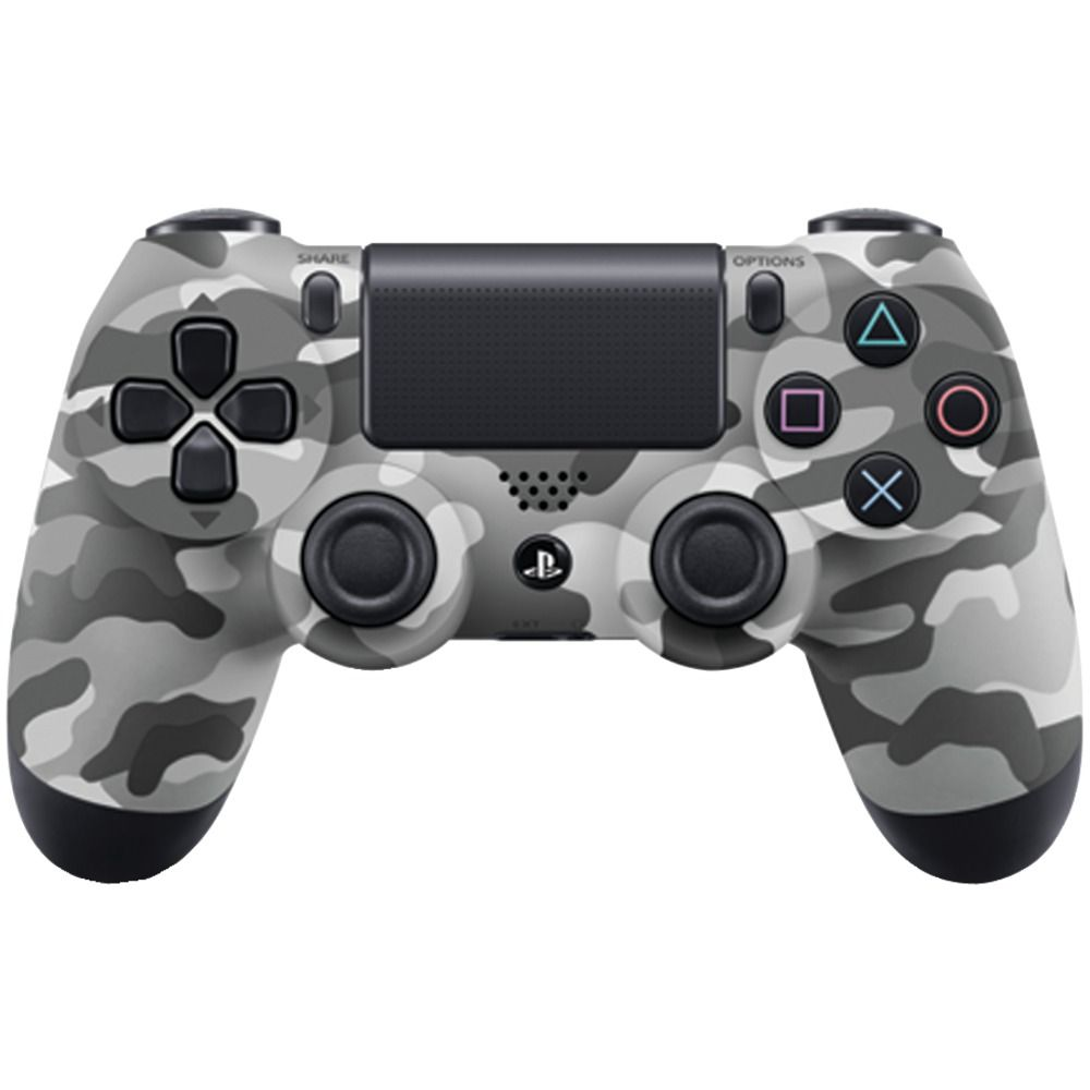 Sony DualShock 4 (CUH-ZCT1E) Camouflage Grey Геймпад для Ps4 камуфляж серый