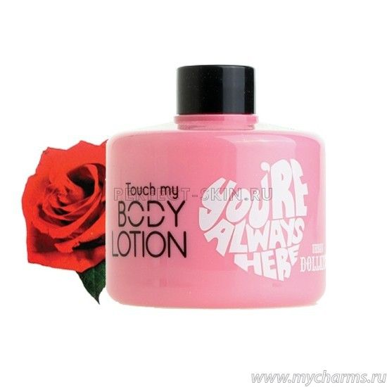 Baviphat Body Dollkiss Touch My Body Wash (Rose)