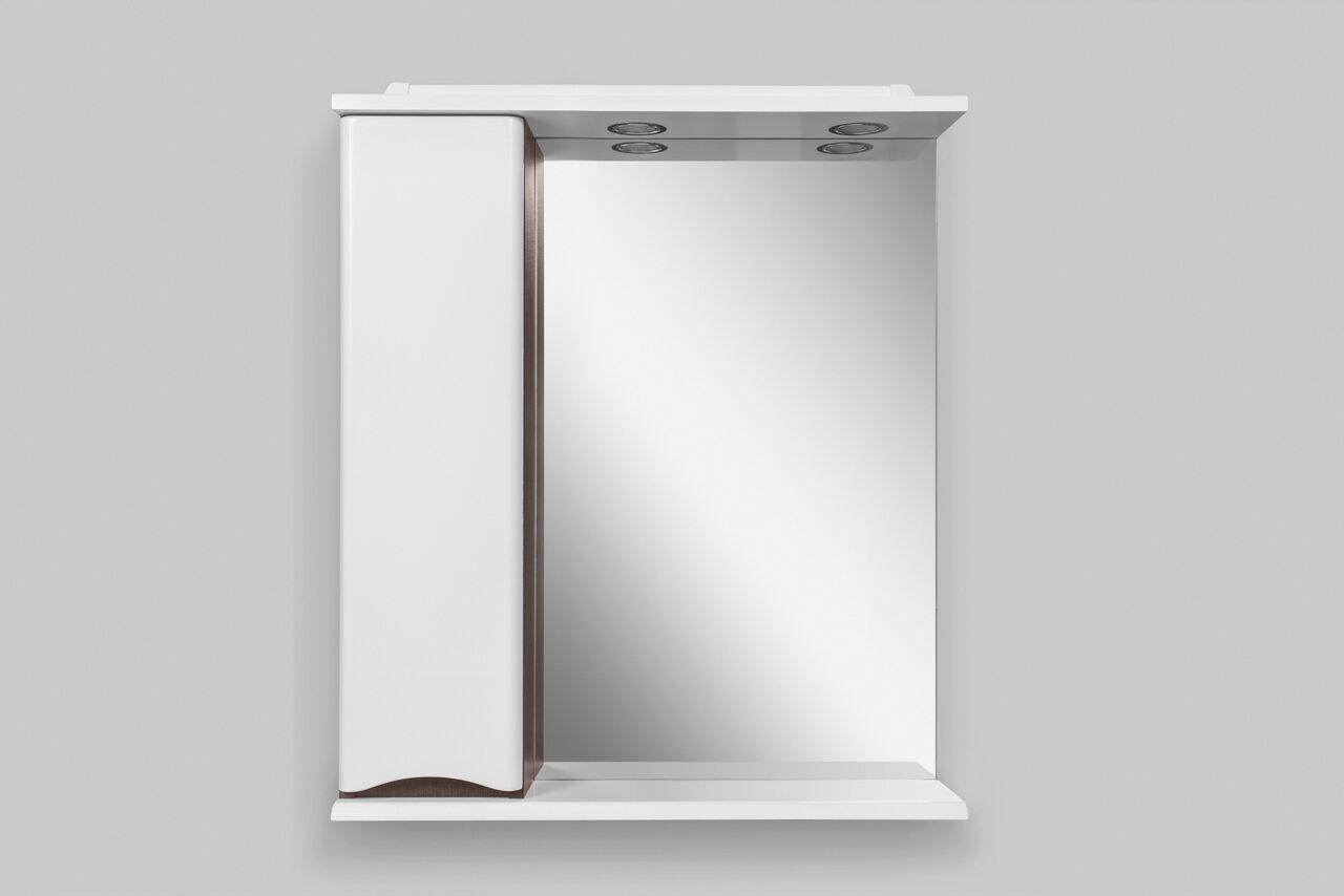 Зеркало-шкаф с подсветкой Am.Pm Like 65 (Лайк) 65х75 ФОТО
