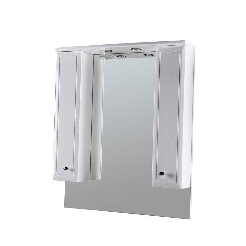 Зеркало-шкаф с подсветкой Am.Pm Bourgeois 85 (Буржуа) 85х105 ФОТО