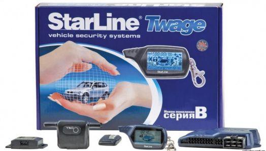Автосигнализация StarLine серия B9