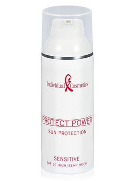 Individual Cosmetics Protect Power Sun Protection Sensitive 50SPF Крем-гель