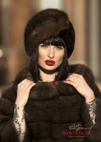 Женская шапка чалма из темного соболя фото форум отзывы модели